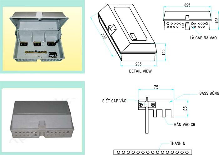 Hộp phân phối Composite