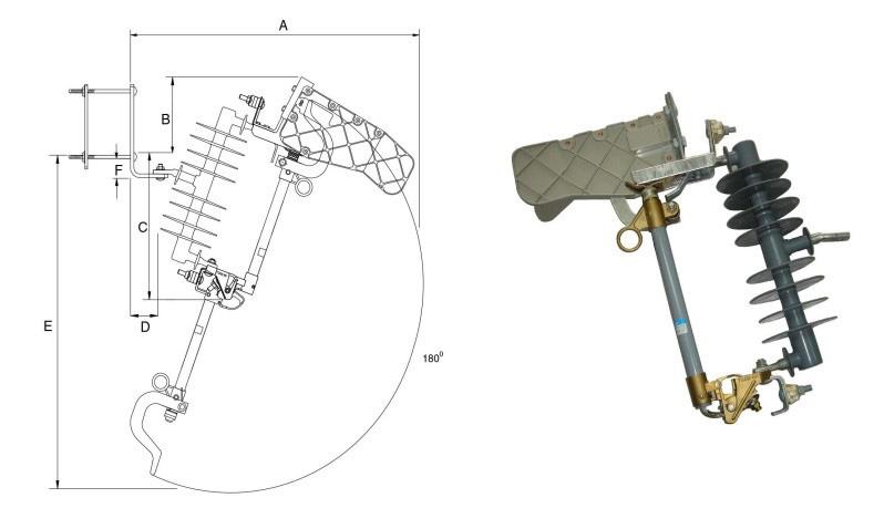 Cầu chì cắt có tải (LBFCO) Polymer