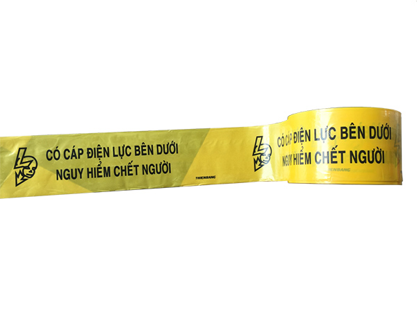 Kích thước băng cảnh báo cáp ngầm