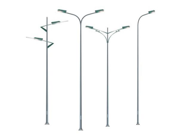 mẫu cột đèn chiếu sáng