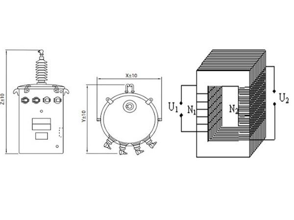 chức năng của máy biến áp 1 pha