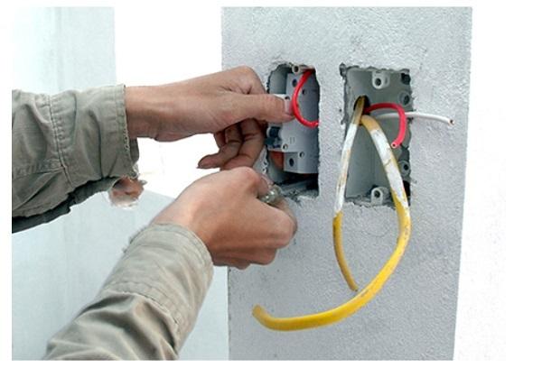 dò dây điện âm tường
